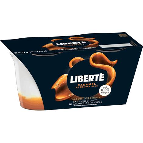 Yaourt Liberté Caramel Au Beurre Salé